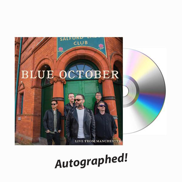 Blue October - Live From Manchester Autographed CD
