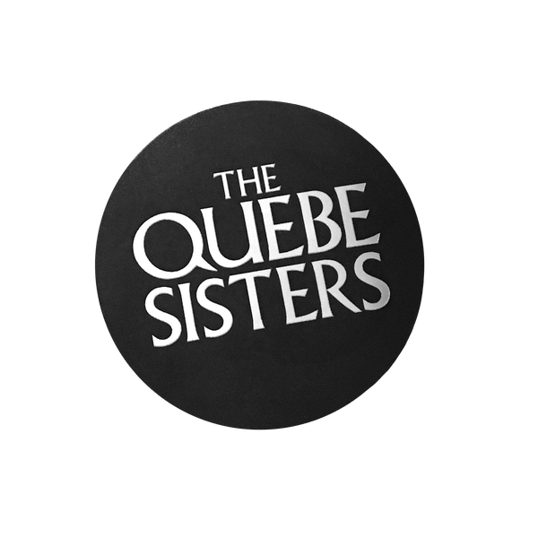 The Quebe Sisters - Silver Foil Logo Sticker