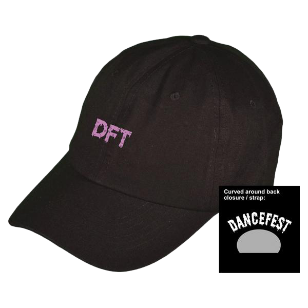 Dancefestopia - Purple Slime Dad Hat