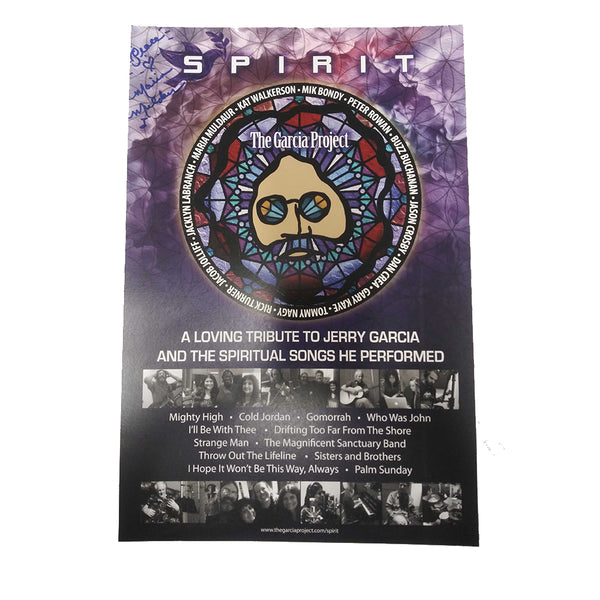 The Garcia Project - Spirit Autographed Poster