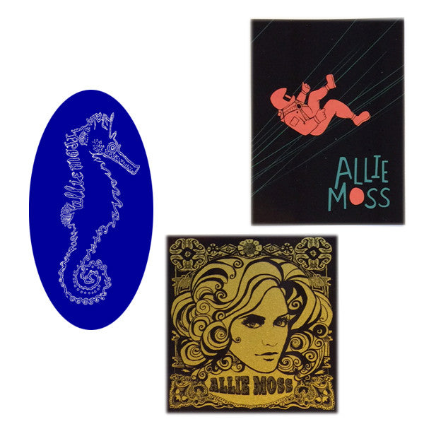 Allie Moss - Sticker Bundle