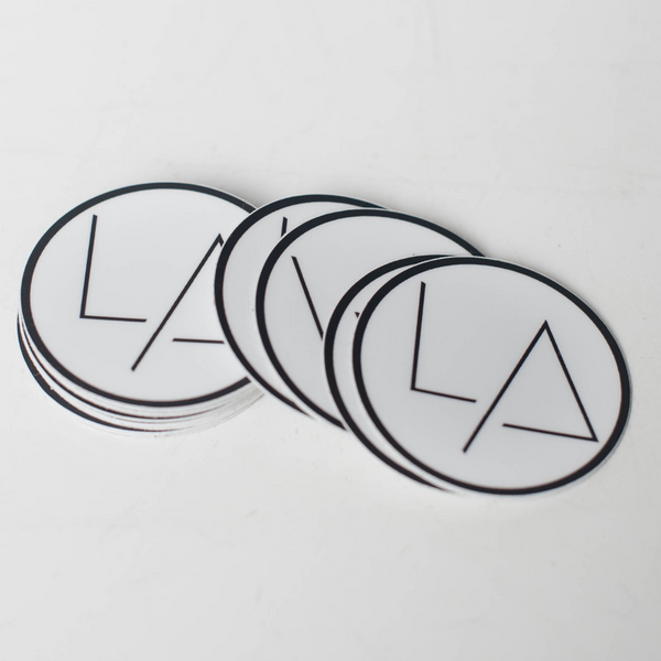 LA Jones - Logo Sticker