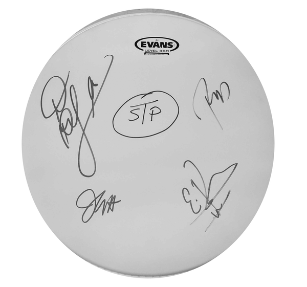 Signed STP Drum Head
