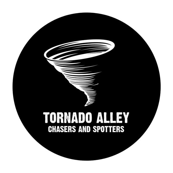 Tornado Alley Chasers and Spotters - Logo Sticker