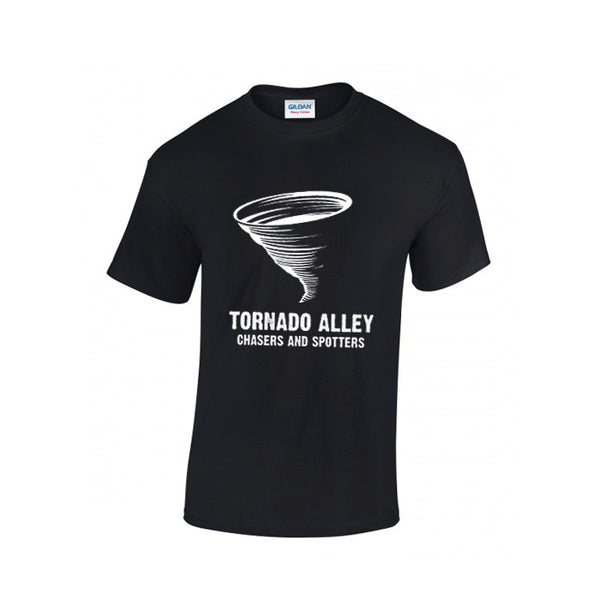 Tornado Alley Chasers and Spotters - Unisex Logo Tee (Black)