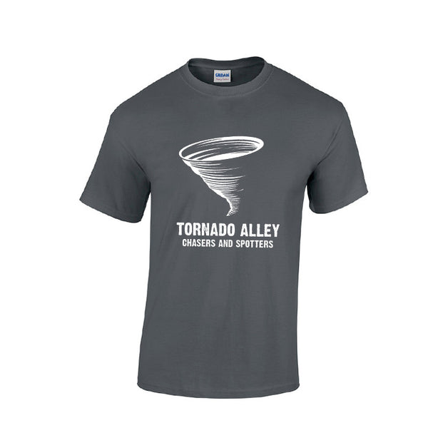 Tornado Alley Chasers and Spotters - Unisex Logo Tee (Grey)