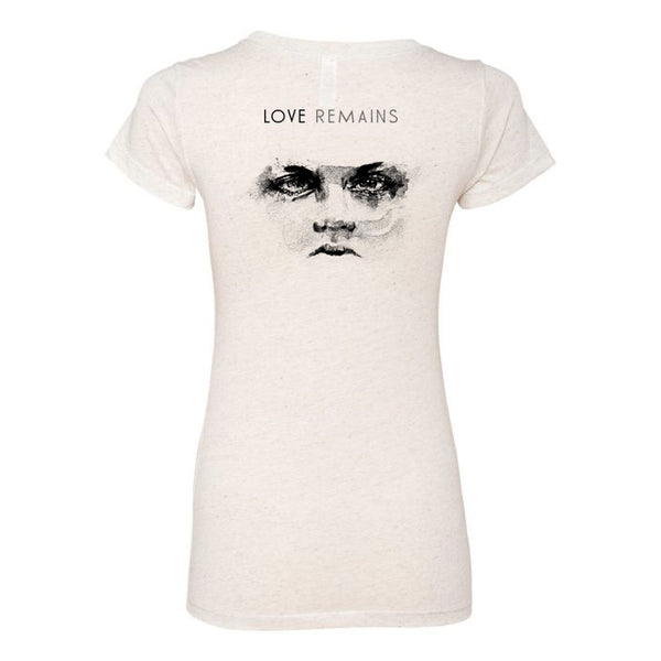 Tal Wilkenfeld - Love Remains Cover Women's Tee - Cream
