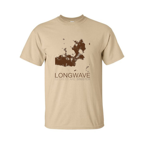 Longwave - Secrets Are Sinister Tee (Tan)