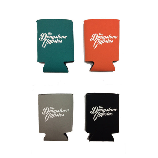 The Drugstore Gypsies - Logo Koozie