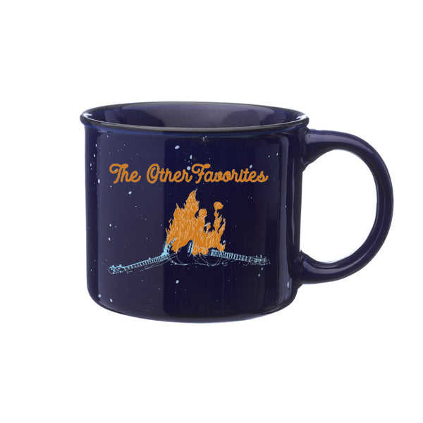 The Other Favorites - Ceramic Campfire Mug (Navy)