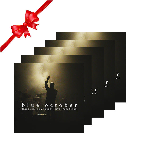 Blue October - Things We Do At Night Stocking Stuffer 5-Pack