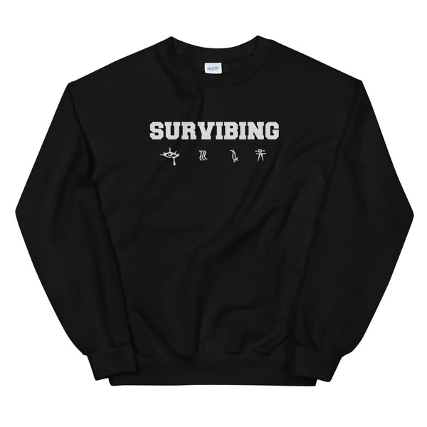 SUR - SURVIBING Sweatshirt (Black)