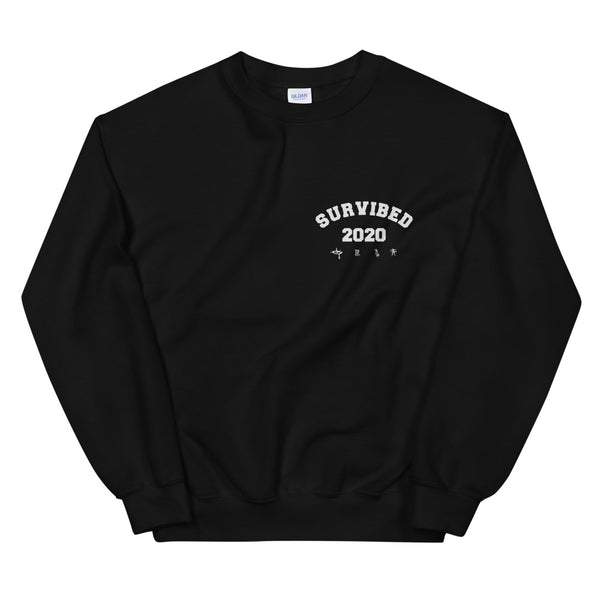 SUR - SURVIBED 2020 Sweatshirt (Black)