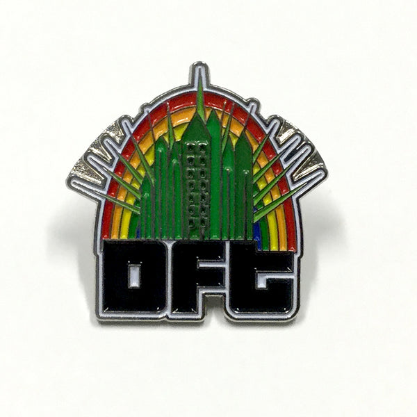 Dancefestopia - Emerald City DFT Pin