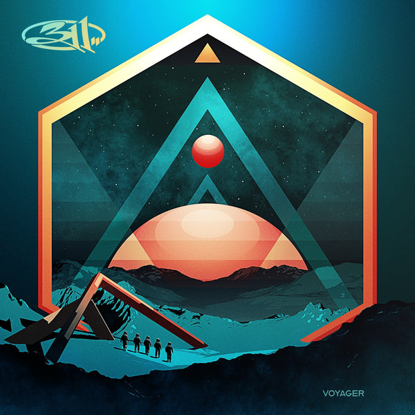 311 - Voyager Lithograph