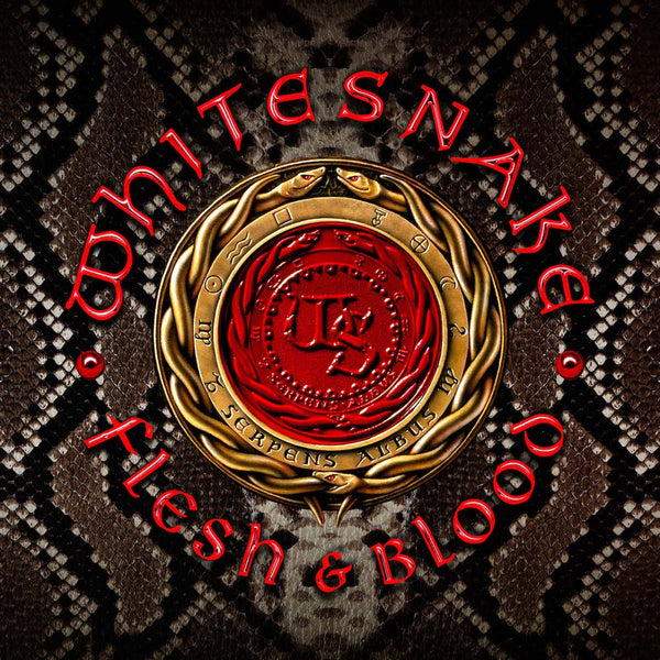 Whitesnake - Flesh & Blood Silver Color Vinyl