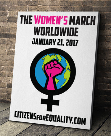 "Citizens For Equality - ""Women's March"" Poster"