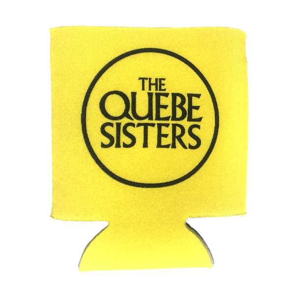 The Quebe Sisters - Yellow Logo Koozie