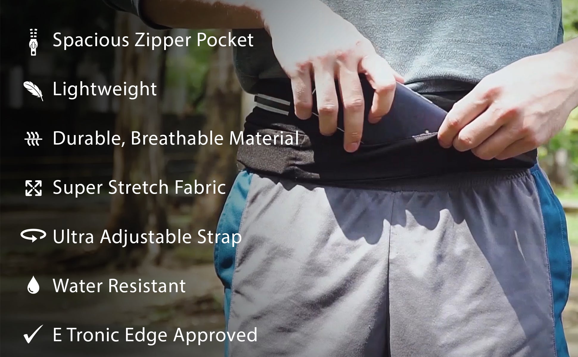Etronic Fanny Pack