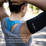 Universal Phone Armband Sleeve - Regular and Plus Size Phones (Black) Arm band best, armbands, best armbands, armband, fitness