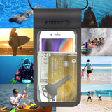 Waterproof Phone Case: UNIVERSAL Cellphone Dry Bag  best, armbands, best armbands, armband, fitness