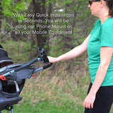 Bike Phone Mount - For Iphone, Android - Fits All Phones  best, armbands, best armbands, armband, fitness