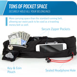 Sport Fit Running Belt Waist Pack