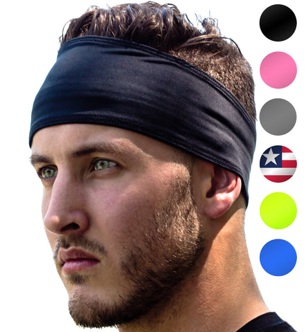 Sweat Band Headband For Women and Men