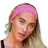 Sweat Band Headband For Women and Men - Sweat and Slip Resistant (Black)  best, armbands, best armbands, armband, fitness