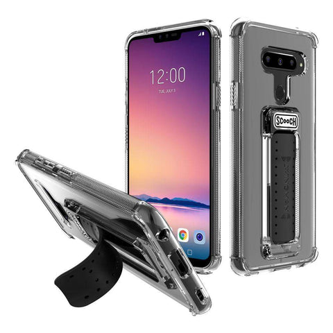 Scooch Wingman Case for LG V40 ThinQ- Clear