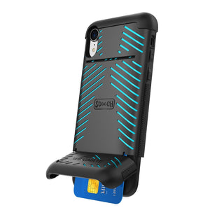 Scooch Case WINGMATE Ultramarine Scooch Wingmate iPhone Xr Phone Case