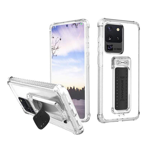 Scooch Wingman Case for Samsung Galaxy S20 Ultra - Clear