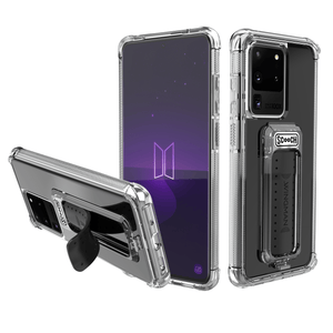 Scooch WINGMAN QR Black Scooch Wingman Case for Samsung Galaxy S20 Ultra - Clear