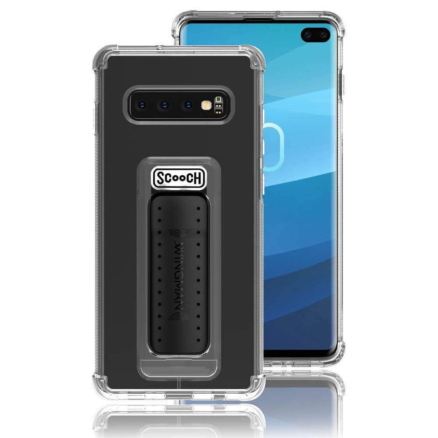 Scooch WINGMAN Clear Samsung Galaxy S10+ Phone Case | Scooch Wingman