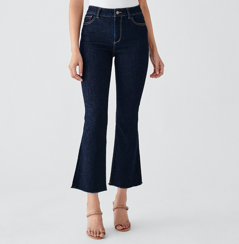 Bridget Crop High Rise Bootcut