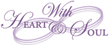 With Heart and Soul Gift Shop Logo