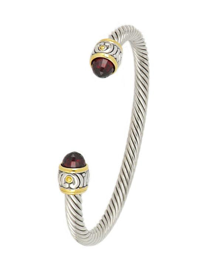 Nouveau Small Wire Cuff Bracelet - John Medeiros Jewelry Collections