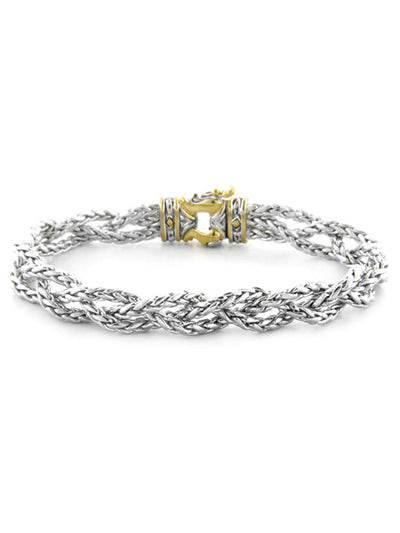 John Medeiros Anvil Braided Bracelet