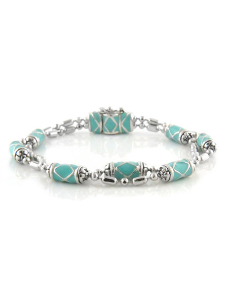 Lattice Collection Double Strand Bracelet