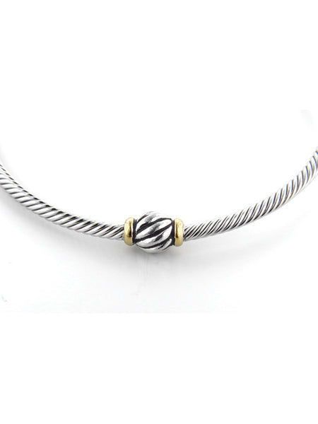 John Medeiros Celebration Twisted Wire Bead Bangle