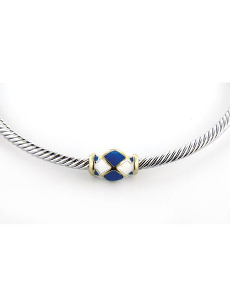 John Medeiros Celebration Berry Blue Bangle
