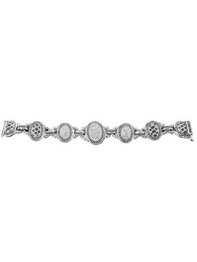 Ocean Images Sparkling Seas Pavé 5 Station Bracelet - John Medeiros Jewelry Collections