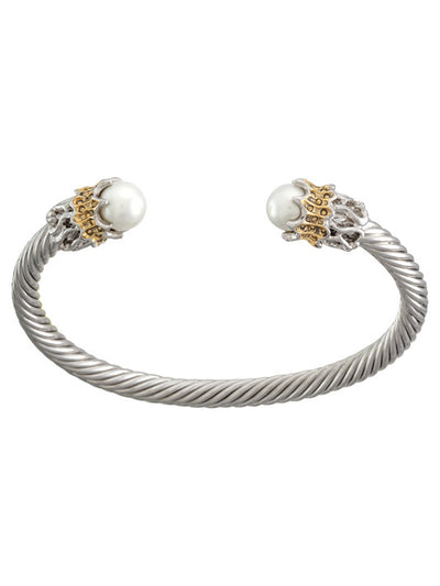 Ocean Images Aqua Viva Seaside Collection Sea-life Thin Wire Cuff - John Medeiros Jewelry Collections