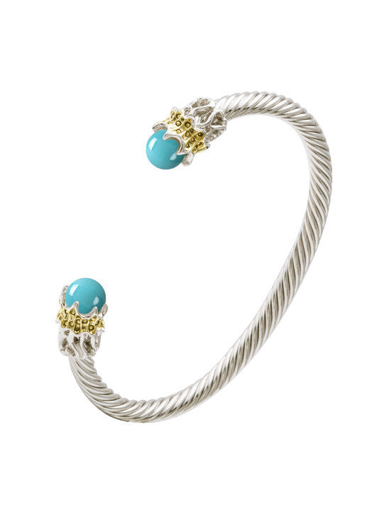 Ocean Images Aqua Viva Seaside Collection Sea-life Thin Wire Cuff