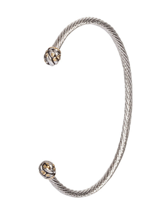 Canias Collection Thin Wire Cuff Bracelet