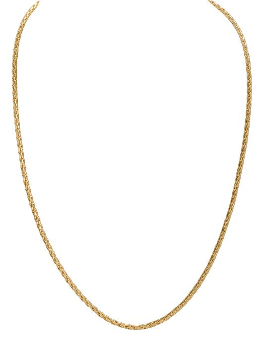 Thin Nouveau Chain - Gold
