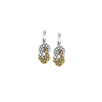 Anvil Knot Earrings - John Medeiros Jewelry Collections