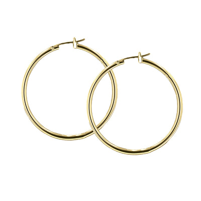 Large Hoop Earrings - John Medeiros Jewelry Collections