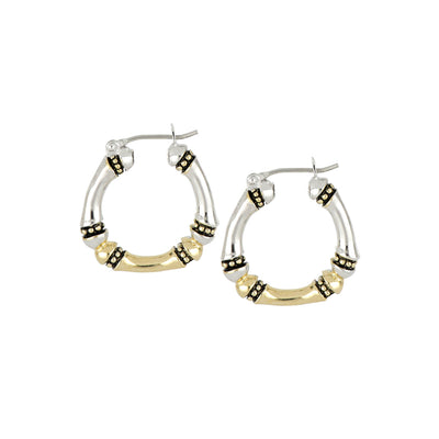 Canias Collection Medium Hoop Earrings