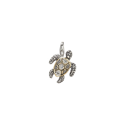 Ocean Images Seaside Collection Little Inspirations Turtle Clip Charm - John Medeiros Jewelry Collections